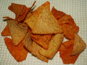 Doritos Collisions Cheesy Enchilada/Sour Cream Chips