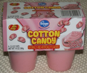 Kroger Jelly Belly Cotton Candy Pudding Snacks