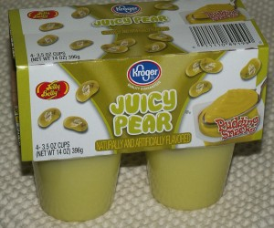 Kroger Jelly Belly Juicy Pear Pudding Snacks