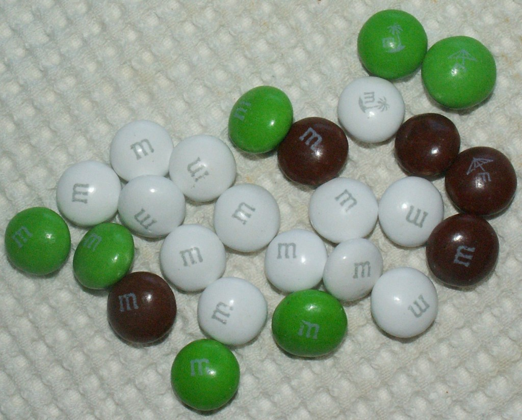Coconut M&M's Colors