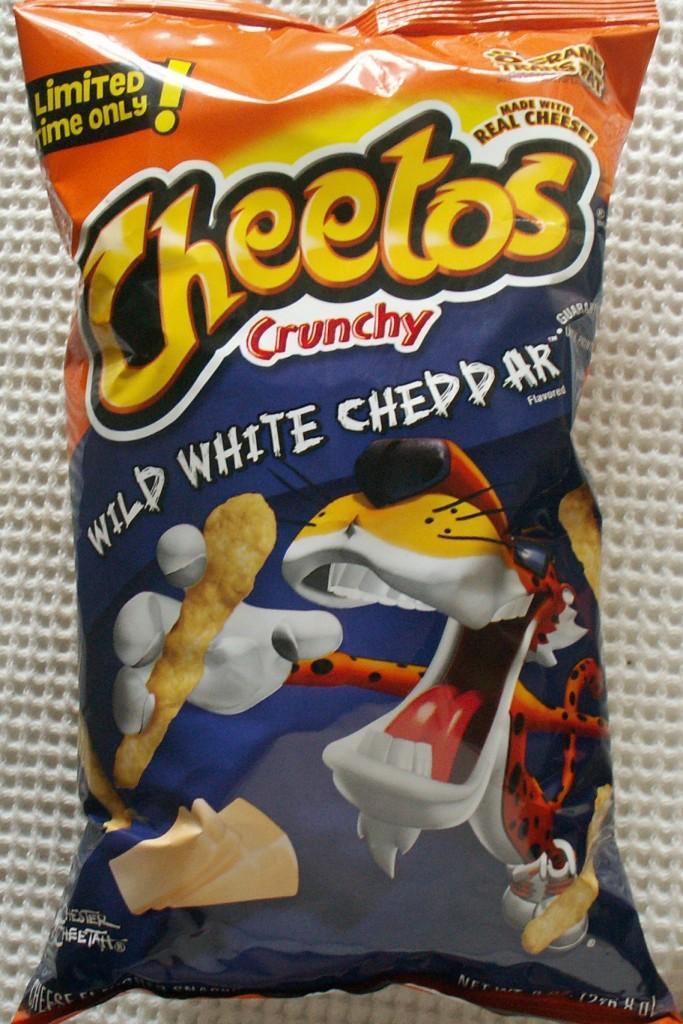 Cheetos Wild White Cheddar
