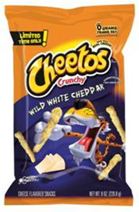 Cheetos Wild White Cheddar Small