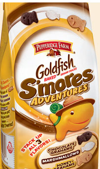 Goldfish S'mores Adventures Bag Front