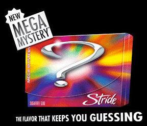 Stride Mega Mystery Gum