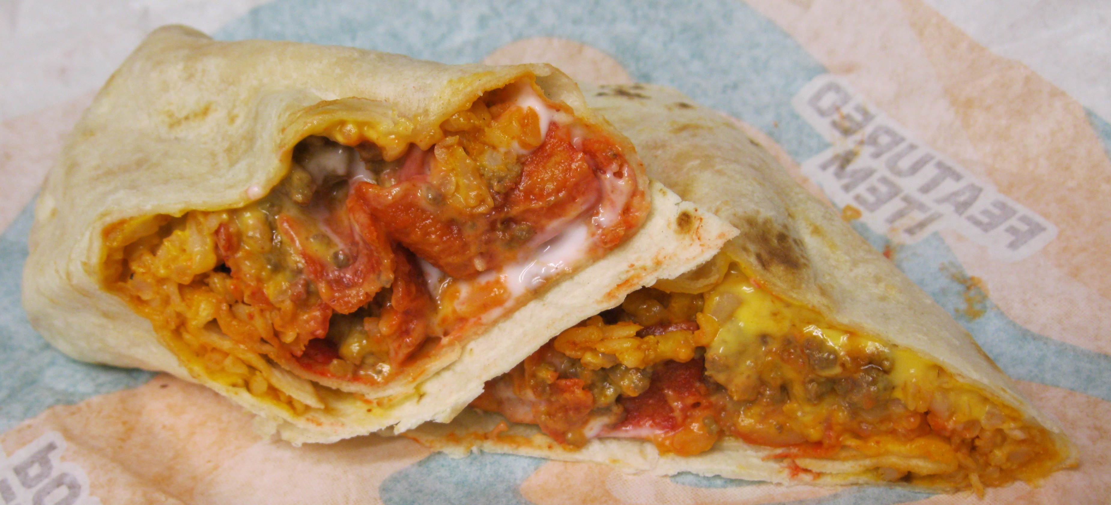 Food News  Taco Bell Meat Only 35  Meat  Taco Bell Patrons Neither    Taco Bell Beefy Crunch Burrito