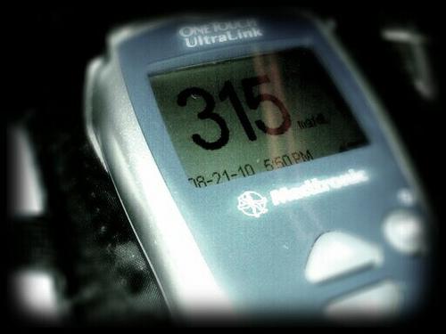 High Blood Glucose by rachellynnae, on Flickr