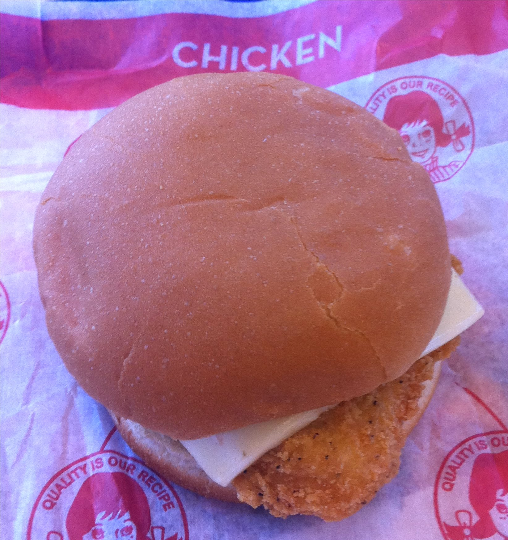 crisp chicken sandwich wendys
