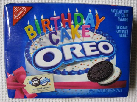 Birthday Cake Oreo Limited Edition Junk Food Betty