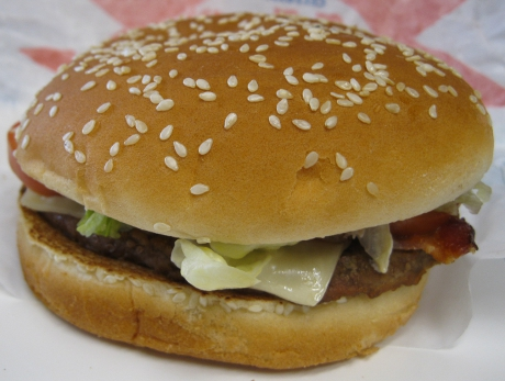 Burger King Avocado and Swiss Whopper