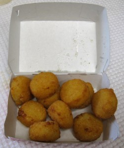 Burger King Cheesy Tots Box