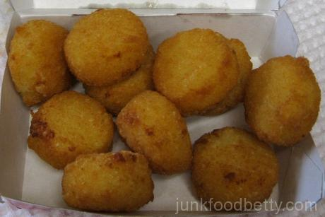 Burger King Cheesy Tots