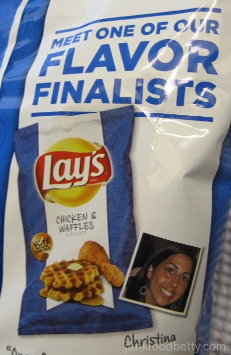 Lay's Do Us a Flavor Finalist Chicken & Waffles Potato Chips Christina