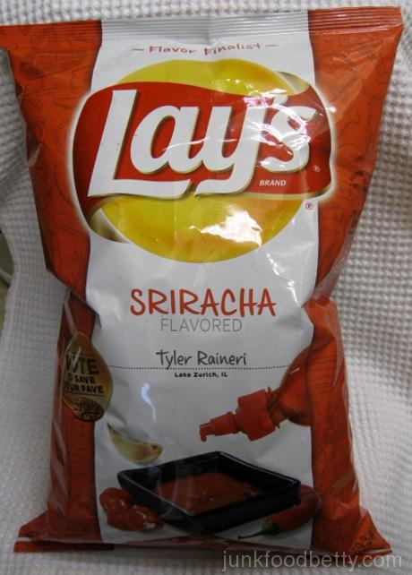 Lay's Do Us a Flavor Finalist Sriracha Potato Chips Bag