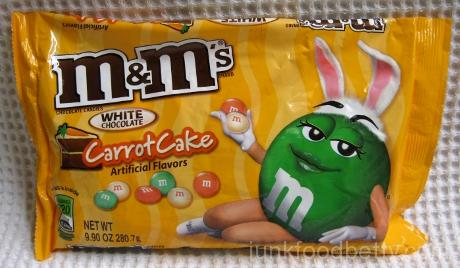 M&Ms White Chocolate Carrot Cake Bag