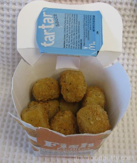 McDonald's Fish McBites Container