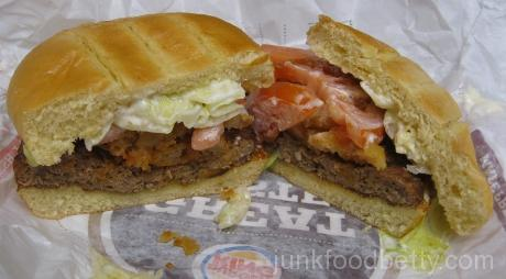 Burger King Spring Menu Bacon Cheddar Stuffed Burger Halves