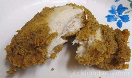 KFC Original Recipe Boneless Chicken White Meat Inside