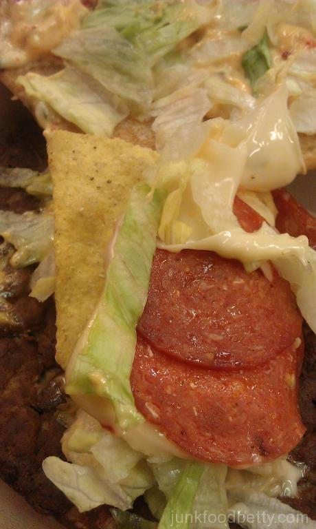 McDonald's UK Tastes of America Week 3 The Arizona Nacho Grande Inside Close