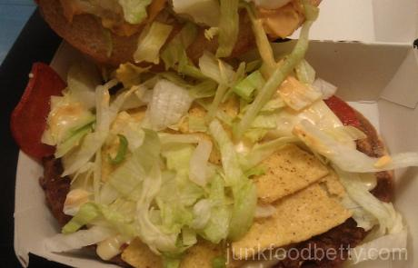 McDonald's UK Tastes of America Week 3 The Arizona Nacho Grande Inside