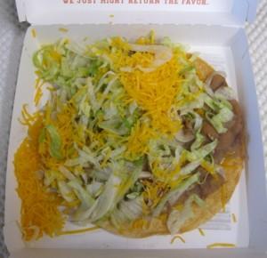 Del Taco CrunchTada Tostada