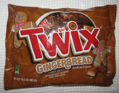 Twix Gingerbread Cookie Bars Bag