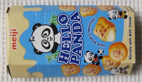 Hello Panda Biscuits with Milk Cream Package
