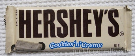 Hershey's Cookies 'n' Creme Bar Package