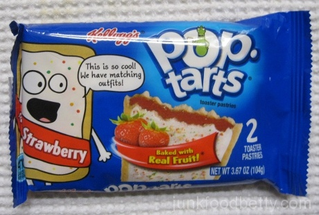 Pop-Tarts Strawberry Toaster Pastry Package