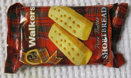 Walkers Pure Butter Shortbread Package