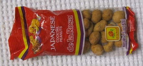 de la Rosa Japanese Cocktail Peanuts Package