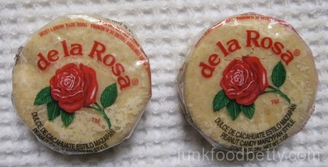 de la Rosa Peanut Candy Marzypan Style Package