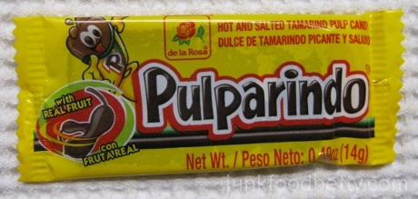 de la Rosa Pulparindo Hot and Salted Tamarind Pulp Candy Package