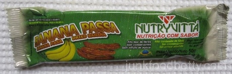 Nutryvitta Banana Passa Package