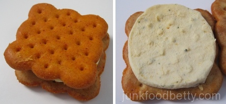 Ritz Crackerfuls Bold Buffalo and Ranch Filled Cracker and Filling
