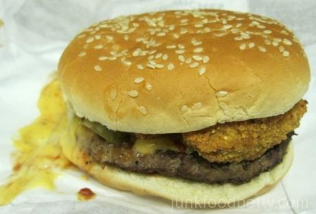 Jack in the Box Hella-Peno Burger