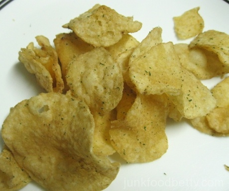 Lay's Do Us a Flavor Finalist Kettle Cooked Wasabi Ginger Potato Chips