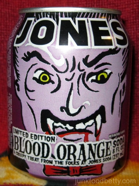 Jones Limited Edition Blood Orange Soda Can