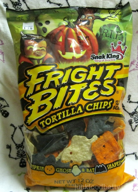 Snak King Fright Bites Tortilla Chips Bag