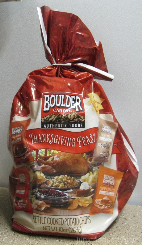 Boulder Canyon Thanksgiving Feast Kettle Cooked Potato Chips Bag