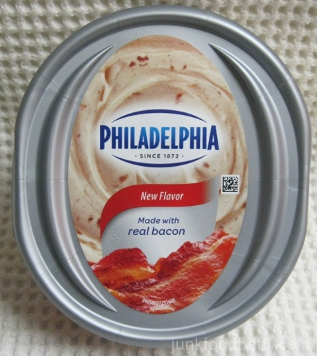 Kraft Philadelphia Bacon Cream Cheese Package