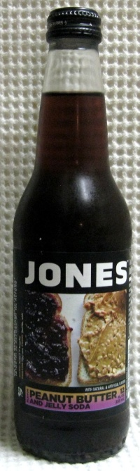 Jones Limited Edition Peanut Butter and Jelly Soda Bottle