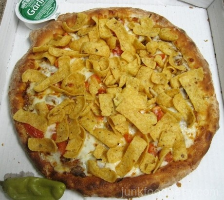 Papa John's Fritos Chili Pizza