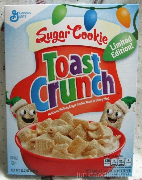 Sugar Cookie Toast Crunch Cereal Limited Edition Box