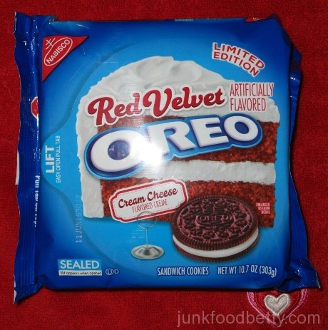 Limited Edition Red Velvet Oreo Package