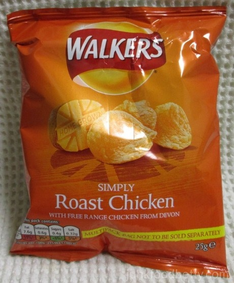 Walkers Simply Roast Chicken Crisps