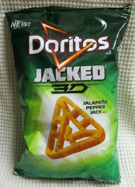 Doritos Jacked 3D Jalapeño Pepper Jack Bag