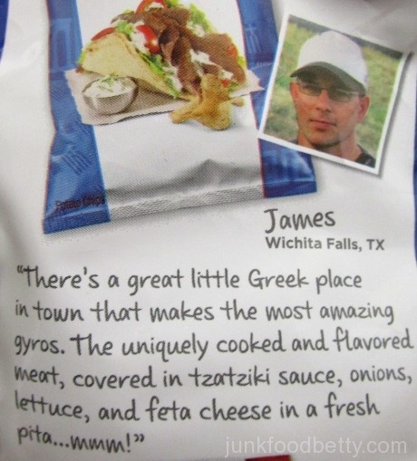 Lay's Do Us a Flavor Finalist 2015 Kettle Cooked Greektown Gyro Creator