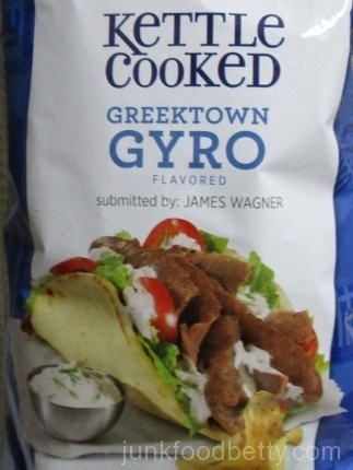 Lay's Do Us a Flavor Finalist 2015 Kettle Cooked Greektown Gyro Picture