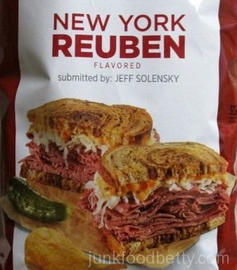 Lay's Do Us a Flavor Finalist 2015 New York Reuben Picture