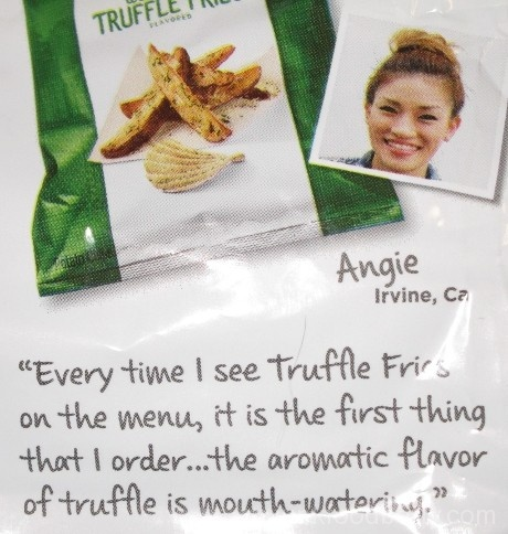 Lay's Do Us a Flavor Finalist 2015 Wavy West Coast Truffle Fries Creator